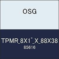OSG テーパーエンドミル TPMR_8X1゚_X_88X38 商品番号 85616