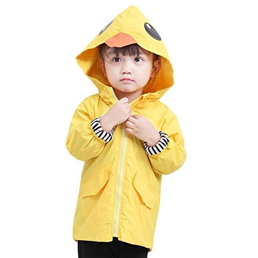 レーニン主義北へ郵便屋さんsimayixx乳児幼児キッズ赤ちゃん男の子女の子漫画動物フード付きジッパートップス服コート
