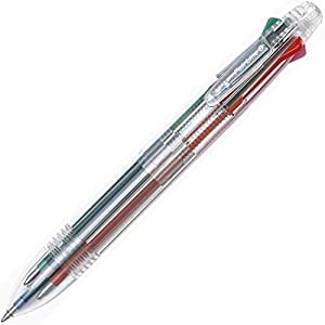 セーラー万年筆 6色ボールペン フェアライン6 0.7 17-3451-002 クリア