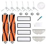LOVECO Replacement Parts Kit Compatible for Xiaomi Mijia Roborock S5 S6 S50 S51 S55 Xiaowa Series E20 E25 E35 Sweeping and Mopping Robotic