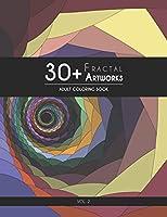 30+ Fractal Artworks: Adult Coloring Book – Vol.2