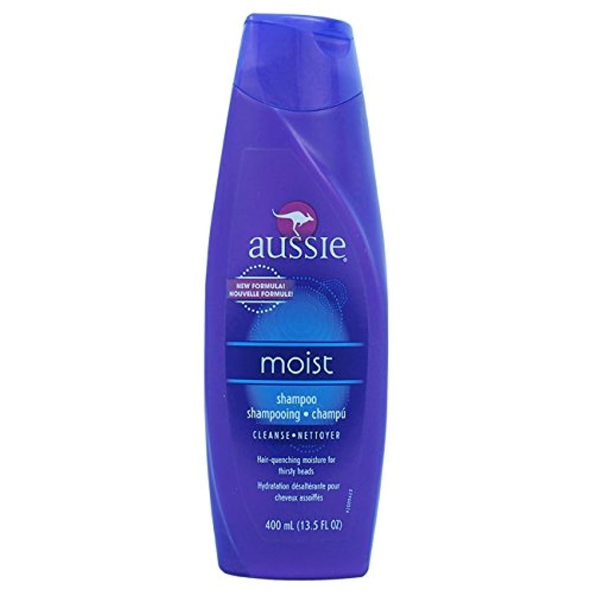 縫う郵便屋さん呪いAussie Moist Shampoo 400 ml (並行輸入品)