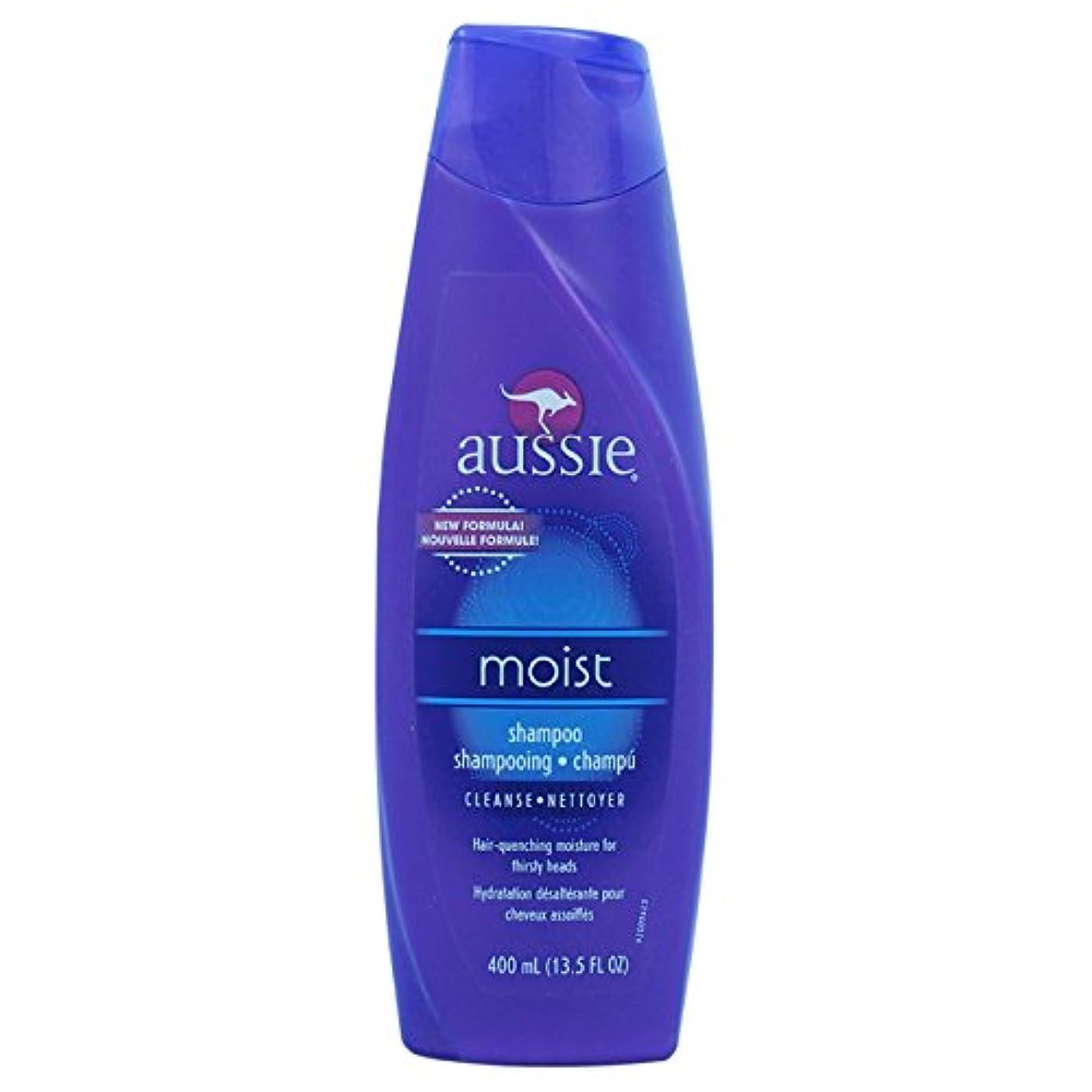 番号黒大宇宙Aussie Moist Shampoo 400 ml (並行輸入品)