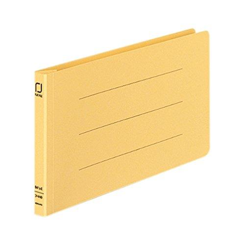 [해외]코쿠 요 플랫 파일 종이 표지 수지 제본 도구 2 구멍 B4 1|3 가로 150 매 수용 황 프 -V49Y/Kokuyo flat file paper cover resin made binding tool 2 hole B4 1|3 horizontal 150 sheets housing yellow-V49Y