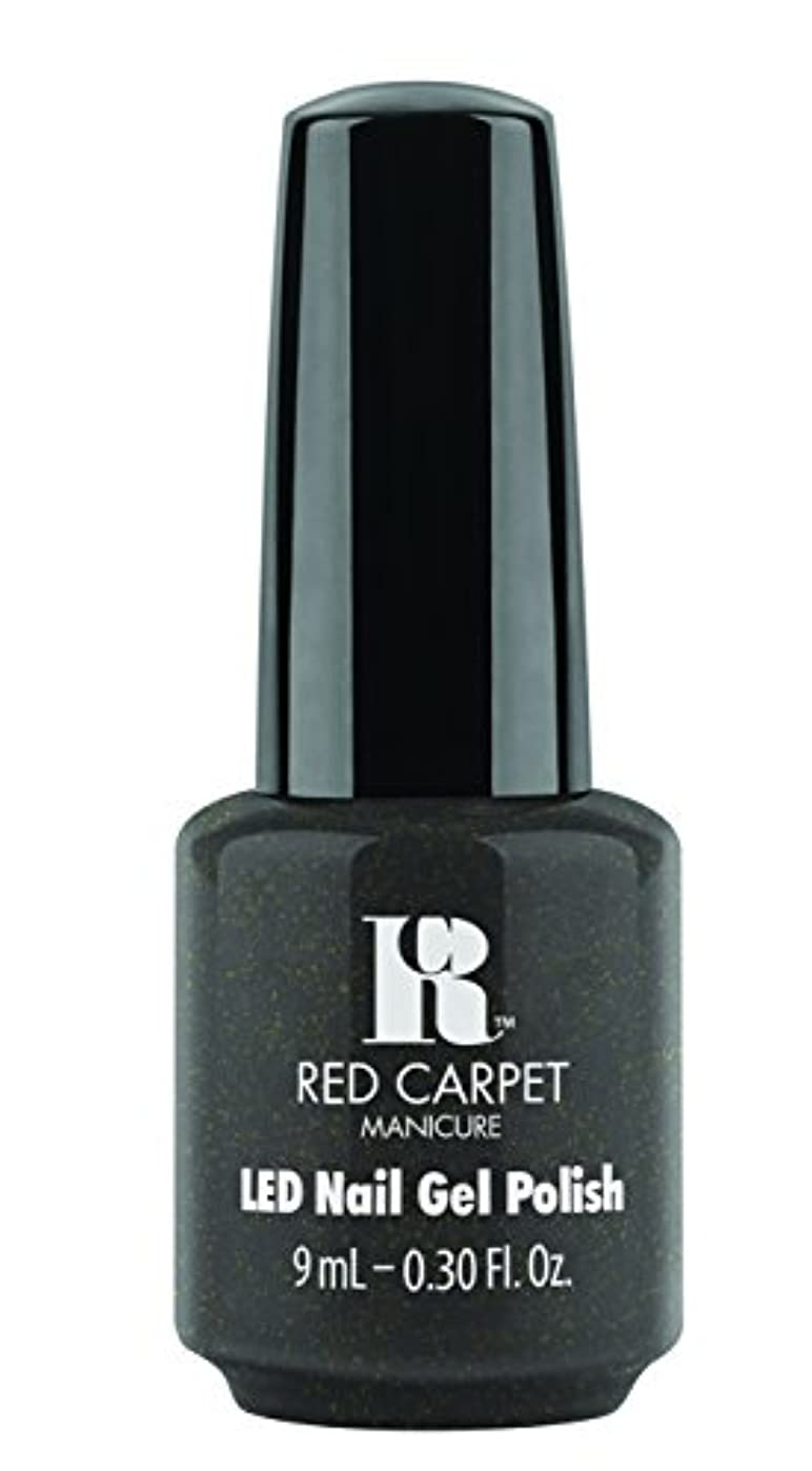 繁雑レーニン主義居眠りするRed Carpet Manicure - LED Nail Gel Polish - Always Slate Never Early - 0.3oz/9ml