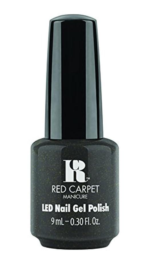 追い払うキウイ浴室Red Carpet Manicure - LED Nail Gel Polish - Always Slate Never Early - 0.3oz/9ml