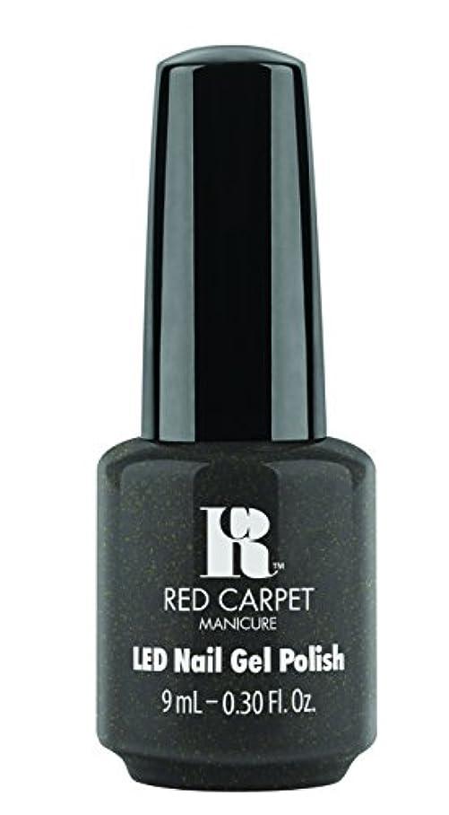 長々と噂適合Red Carpet Manicure - LED Nail Gel Polish - Always Slate Never Early - 0.3oz/9ml