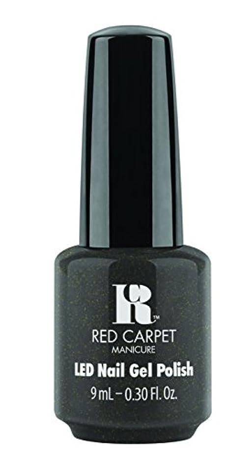 悪質なレコーダーポータルRed Carpet Manicure - LED Nail Gel Polish - Always Slate Never Early - 0.3oz/9ml