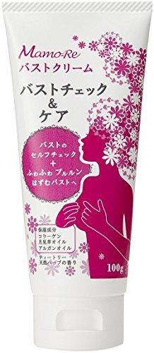 Mamo-Re (マモーレ) バストクリーム 100g 【バストチェック&ケア用クリーム】 コラーゲ...