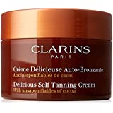 Clarins Delicious Self Tanning Cream by Clarins for Unisex - 5.3 oz Cream, 159 ml