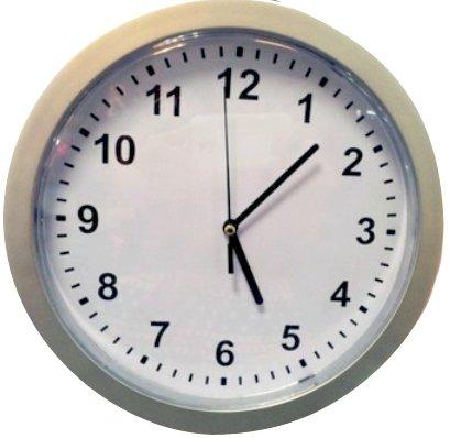 壁掛け 時計型 隠し金庫 へそくりに最適