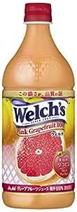 アサヒ飲料 Welch's(ウェルチ) ピンクグレープフルーツ100 800g×8本