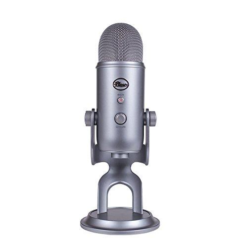 Blue Microphones Yeti USBマイク【日本正規代理店品・メーカー保証2年】スペースグレイ 2032 指向性4モード
