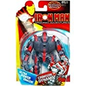 Iron Man Armored Adventures Animated Action Figure Crimson Dynamo