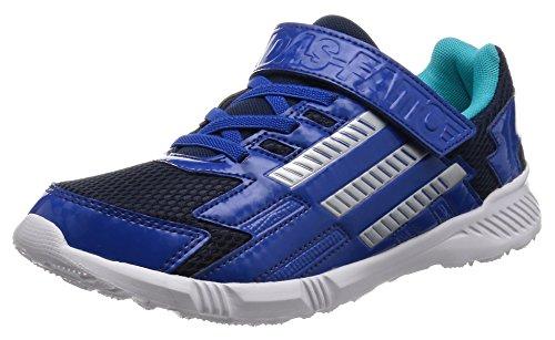 [アディダス]運動靴 KIDS アディダスファイト EL K ブルー/シルバーメット/エナジーブルー...