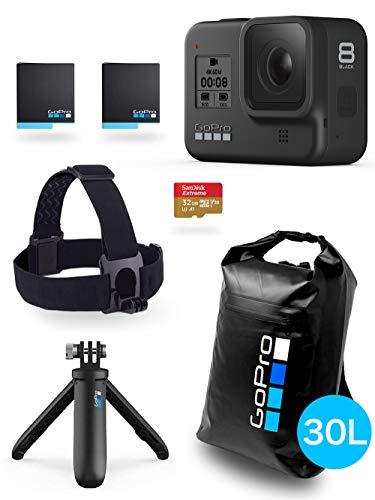 【GoPro公式限定】 GoPro HERO8 Black 限定ボックス + GoPro公式ストア限定非売品 ドライバッグ30L 【国内正規品】