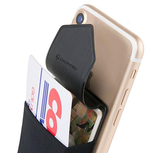 SINJIMORU 手帳型 カードケース、SUICA PASMO カード入れ...