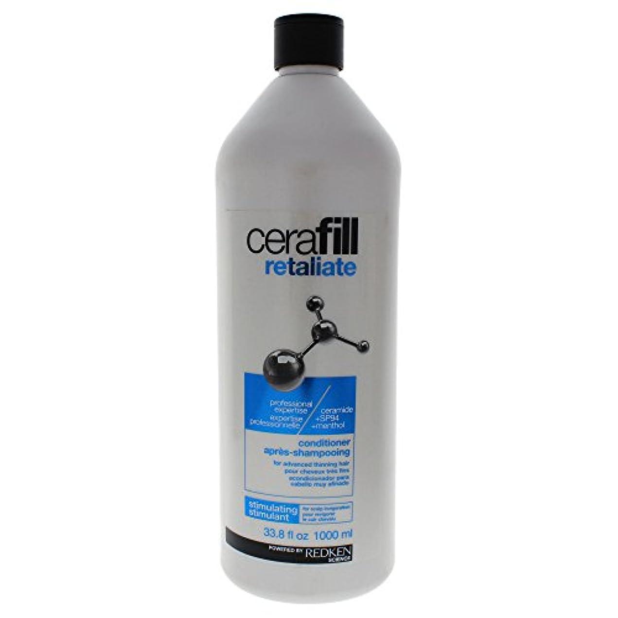 夕方護衛雨のレッドケン Cerafill Retaliate Stimulating Conditioner (For Advanced Thinning Hair) 1000ml