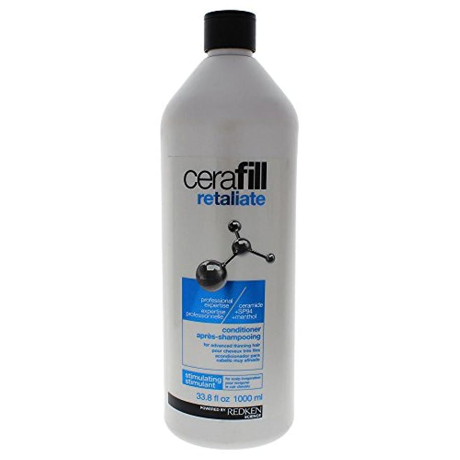 レザー領事館振るうレッドケン Cerafill Retaliate Stimulating Conditioner (For Advanced Thinning Hair) 1000ml