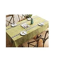 テーブルクロス、プリントテーブルクロス。ホーム用品サイズ:24×24インチ、36×52インチ、44×44インチ、44×68インチ、52×52インチ。色:グレー、グリーン (Color : ピンク, Size : 44*68 inch)