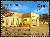 Delhi Gymkhana Club Gymkhana, Sports Club, Building Rs. 5 Indian Stamp