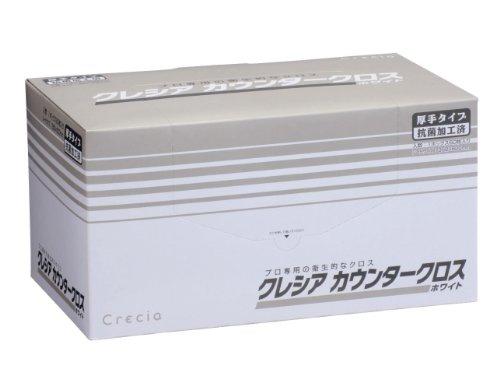 クレシア カウンタークロス 厚手タイプ ホワイト 60枚入