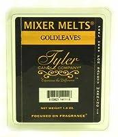 タイラー香りつきワックスミキサーMelts Goldleaves