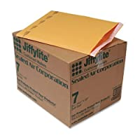 Jiffy Padded Self-Seal Mailer, #7, 14 1/4 x 20, Golden Brown, 50/Carton by ANLE [並行輸入品]