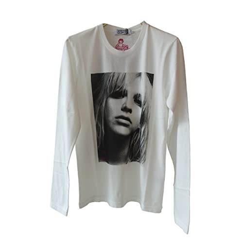 (ヒステリックグラマー)HYSTERIC GLAMOUR CL/KICKING AGAINST pt T-SH (L, WHITE)