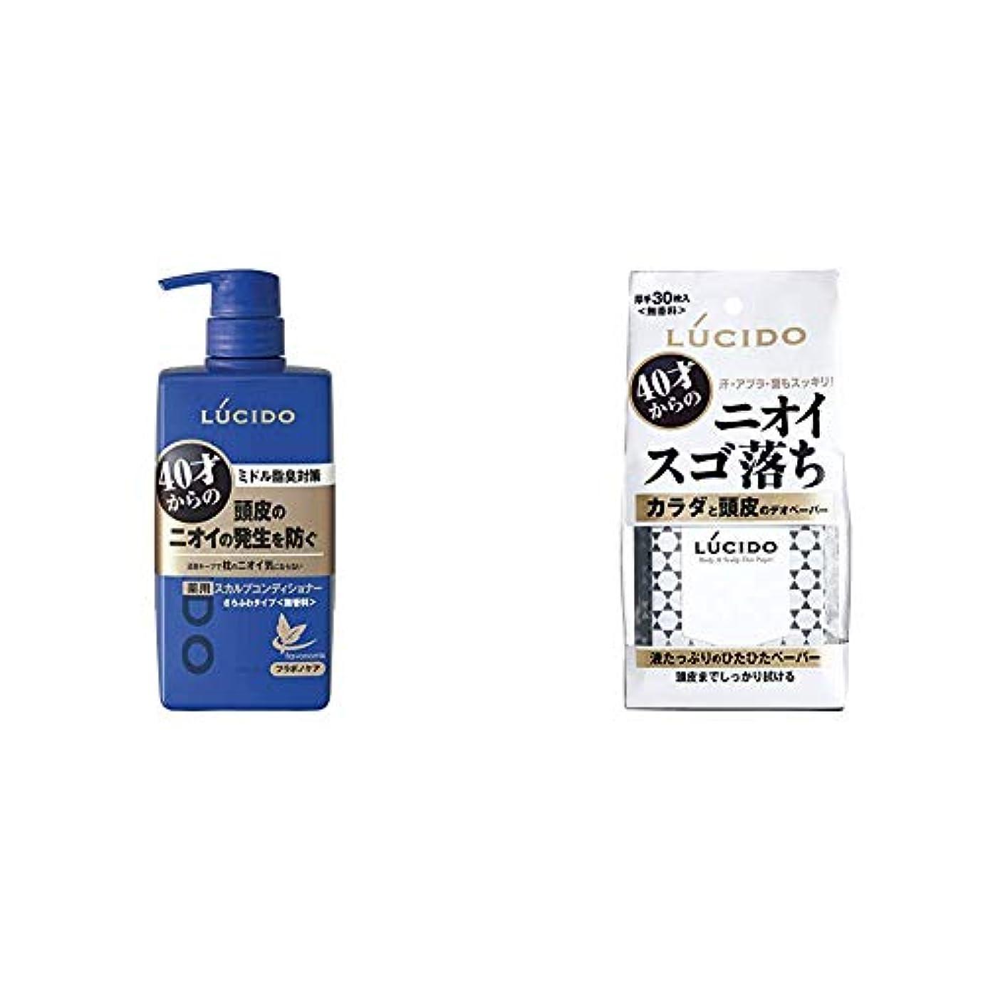 どう?シリングサイクロプスルシード 薬用ヘア&スカルプコンディショナー 450g(医薬部外品) & カラダと頭皮のデオペーパー 30枚