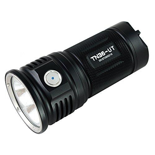 ThruNite TN36 UT LED フラッシュライト Cree XHP70 LED 搭載 18650充電池×4本使用  明るさMAX7300ルーメン 4段階明るさ切替機能+Turboモード+Strobeモード(電池別売り) (TN36 UT CW)