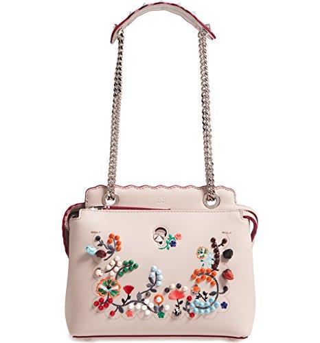 (フェンディ) FENDI women`s Small Dotcom Leather Shoulder Bagスモールドットコムレザーショルダーバッグ(並行輸入)