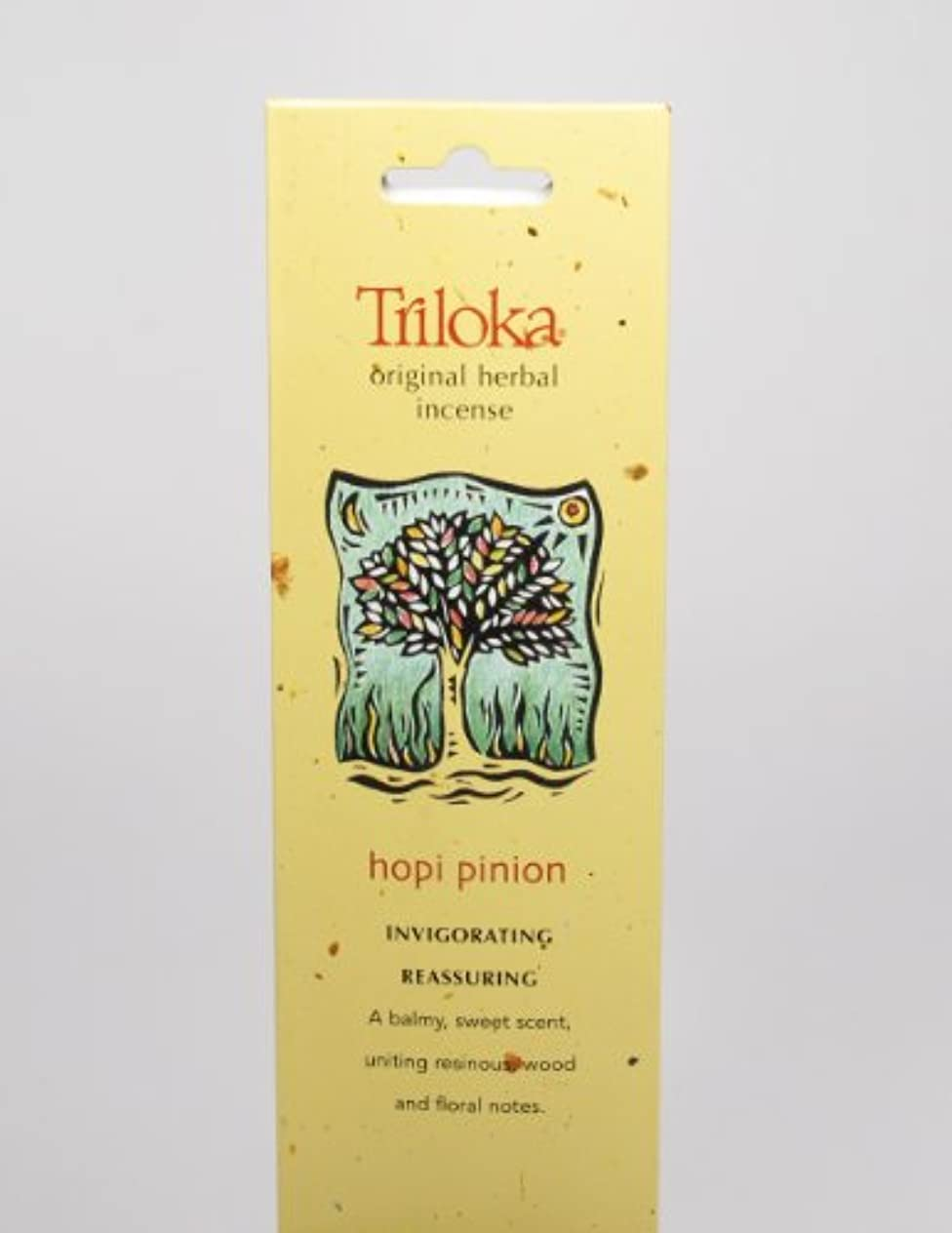 指定何故なの文言Hopi Pinon – Triloka元Herbal Incense Sticks
