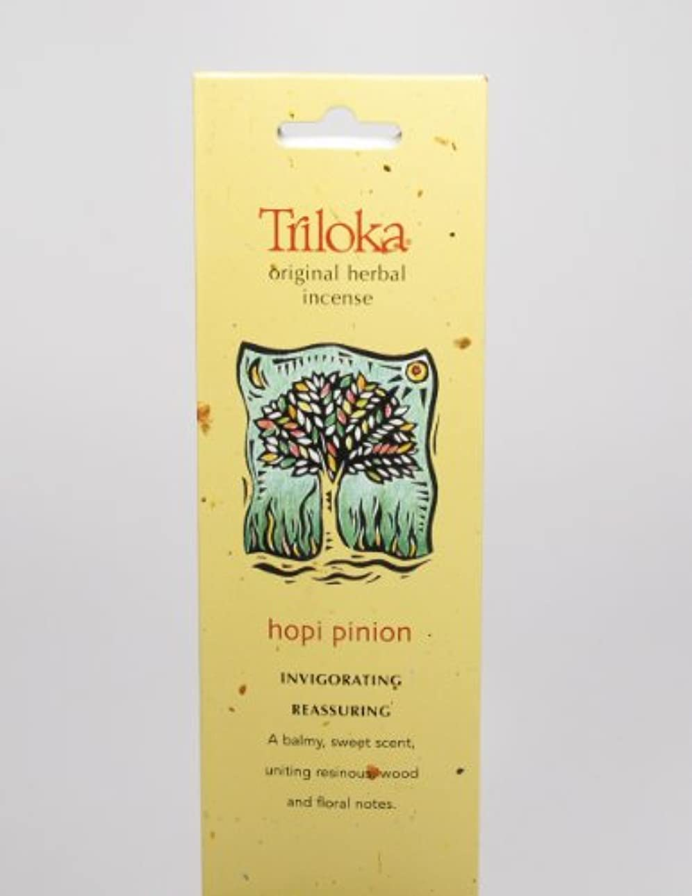 真面目な悪化する紛争Hopi Pinon – Triloka元Herbal Incense Sticks