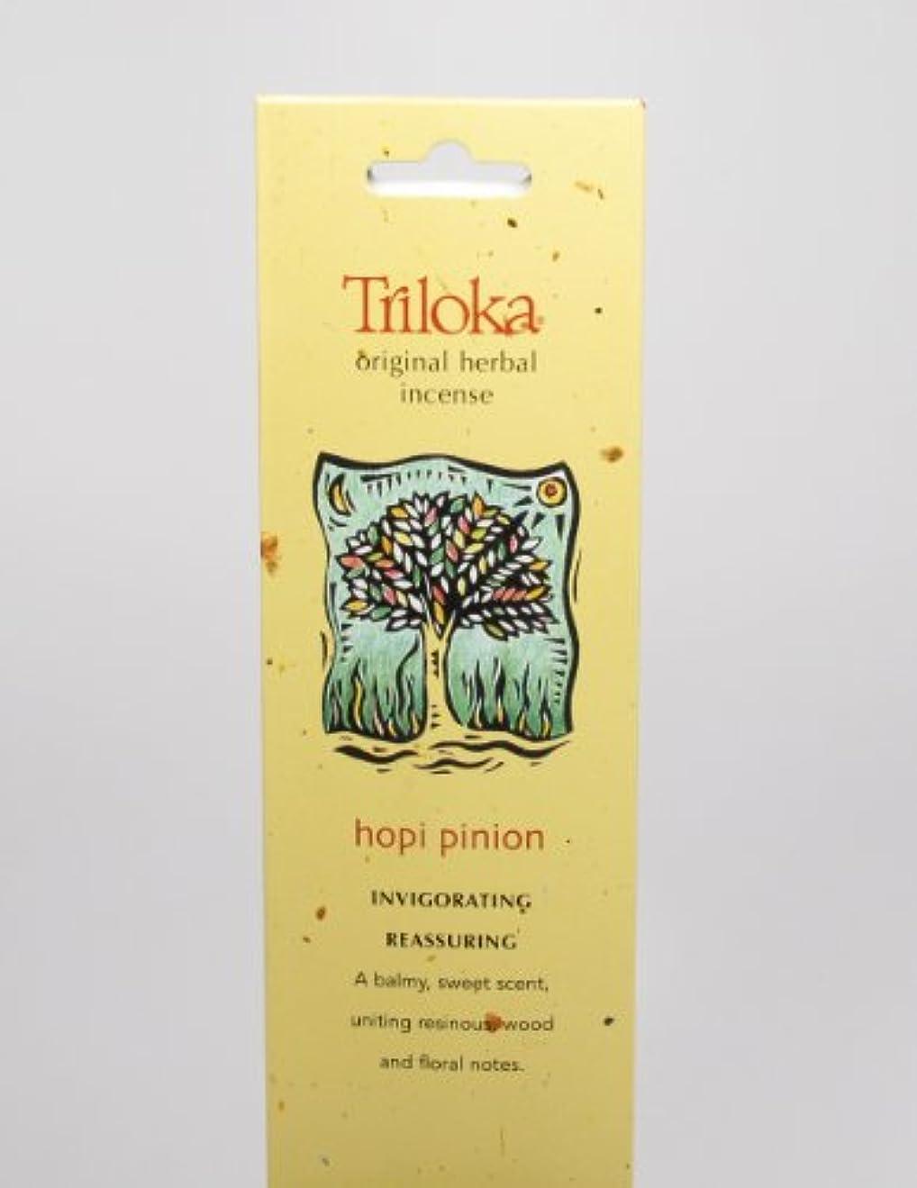 チャンピオンシップうめき声数値Hopi Pinon – Triloka元Herbal Incense Sticks