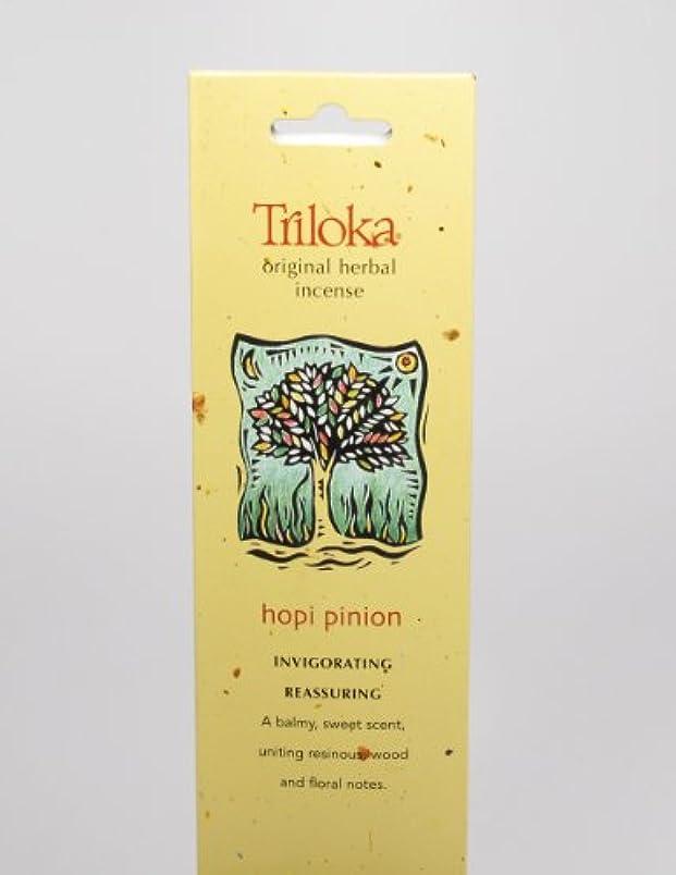 無心に渡って団結Hopi Pinon – Triloka元Herbal Incense Sticks
