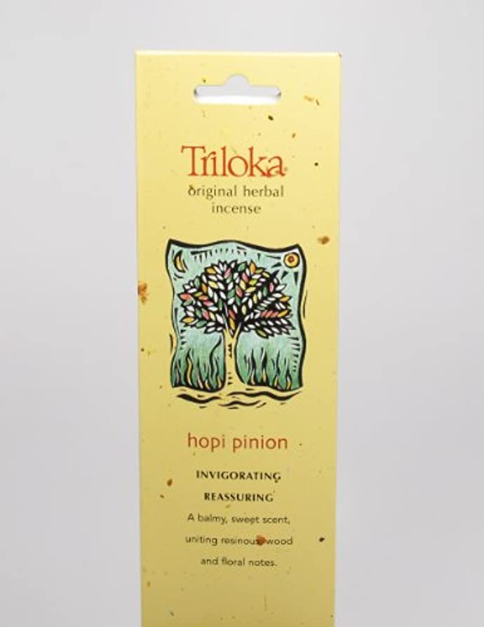 夜明けに呼吸する追い付くHopi Pinon – Triloka元Herbal Incense Sticks