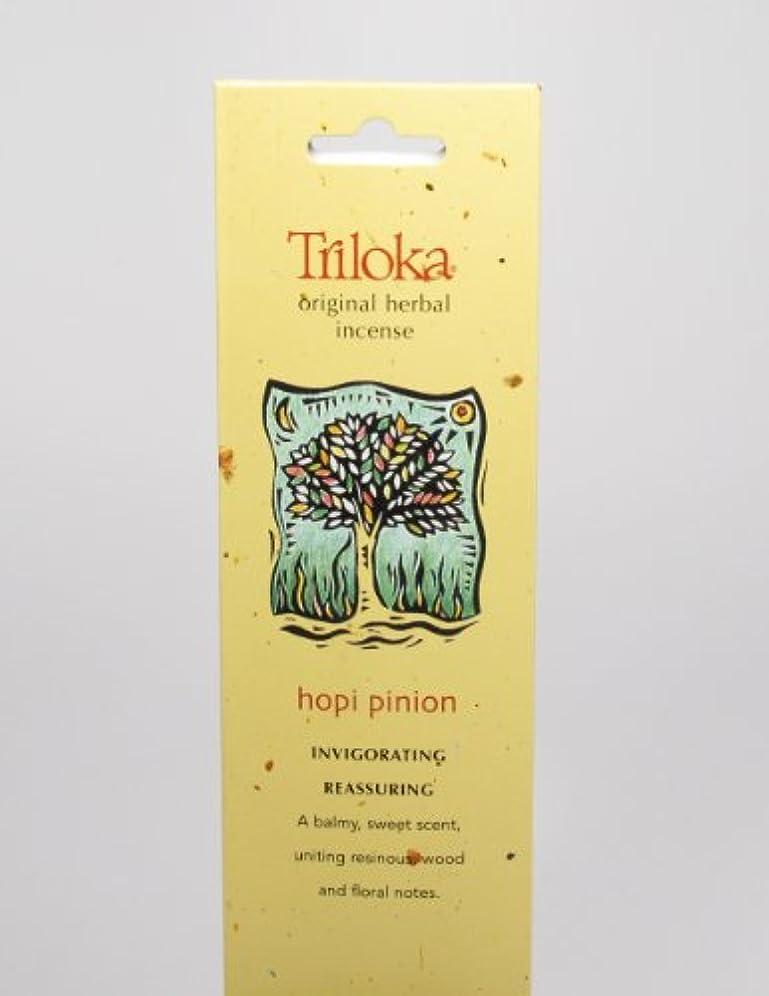カート小麦粉に話すHopi Pinon – Triloka元Herbal Incense Sticks