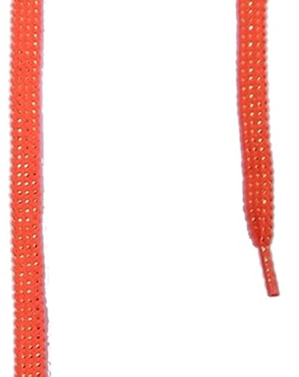 コーン指ブラウスis-fit RH-13 ラメ 平 120cm  蛍光レッド/G