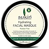 Sukin Hydrating Facial Masque 100ml (Pack of 6) - 水和顔の仮面劇の100ミリリットルを x6 [並行輸入品]