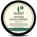 水和顔の仮面劇の100ミリリットルを x2 - Sukin Hydrating Facial Masque 100ml (Pack of 2) [並行輸入品]