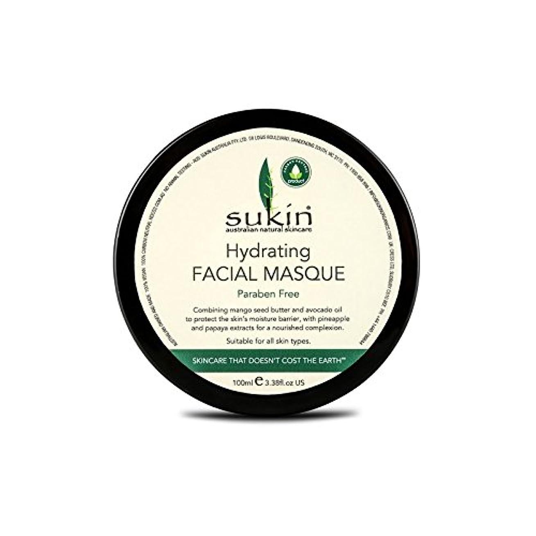 スカイ危機長さSukin Hydrating Facial Masque 100ml - 水和顔の仮面劇の100ミリリットルを [並行輸入品]