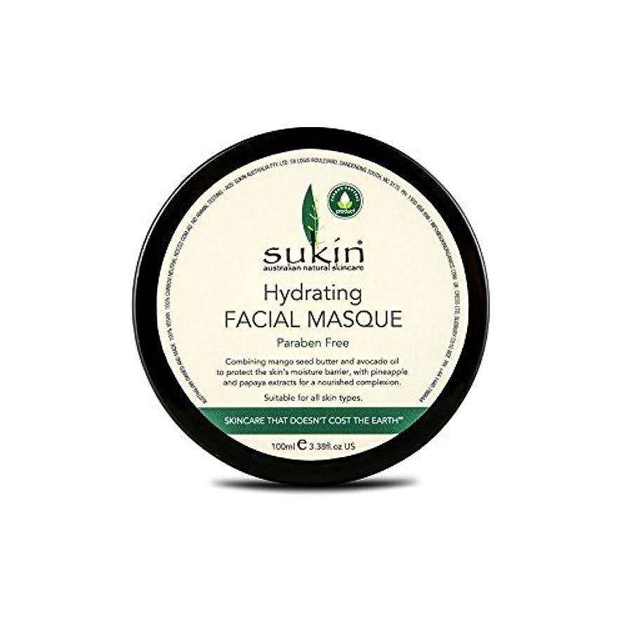 マンハッタン建設トロピカルSukin Hydrating Facial Masque 100ml (Pack of 6) - 水和顔の仮面劇の100ミリリットルを x6 [並行輸入品]