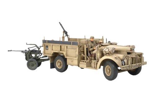 スケール限定シリーズ 1/35 イギリス L.R.D.G.デザートシボレー & ブレダ20mm耐空機関砲 89785