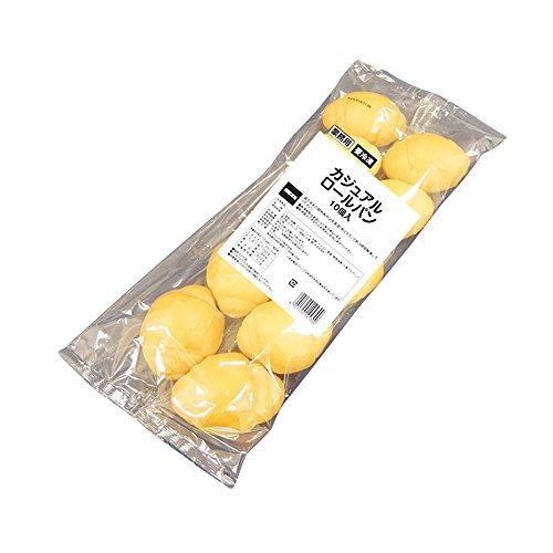 【冷凍】 テーブルマーク カジュアル ロールパン 約21g × 10個