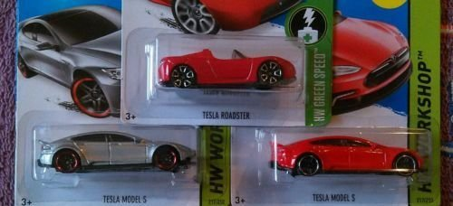 Hot Wheels ホットウィール Tesla set of 3: Tes...