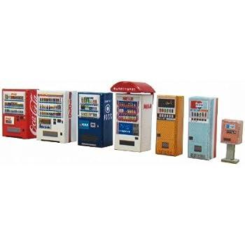 さんけい 1/150 ジオラマ オプションキット 自動販売機A ペーパークラフト