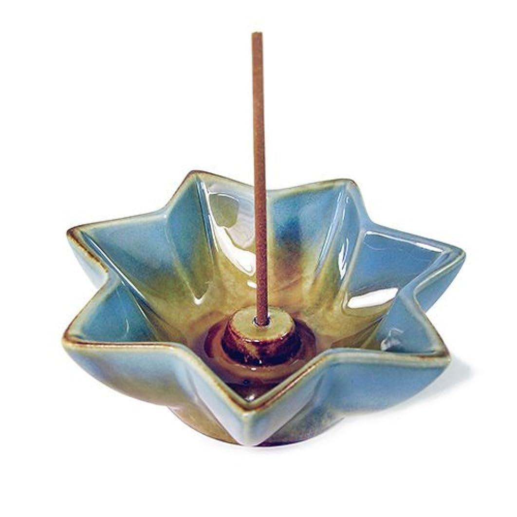 原点黒板嵐Shoyeido 's LotusセラミックIncense Holder