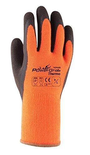 東和コーポレーション 防寒用手袋 メジャーローブサーモ 335 L オレンジ