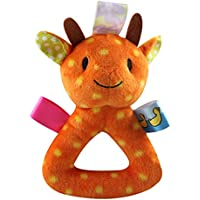 Baringベビー動物Rattle Plush Soft Toys新生児ギフトCrib Toy Stuffed Animal for新生児幼児 1J39A6610